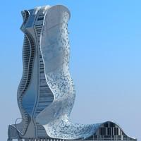 3d modern futuristic