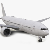 3d model boeing 777-200lr generic