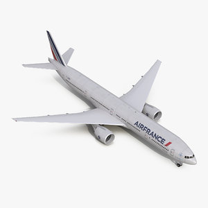boeing 777-300er air france 3d x