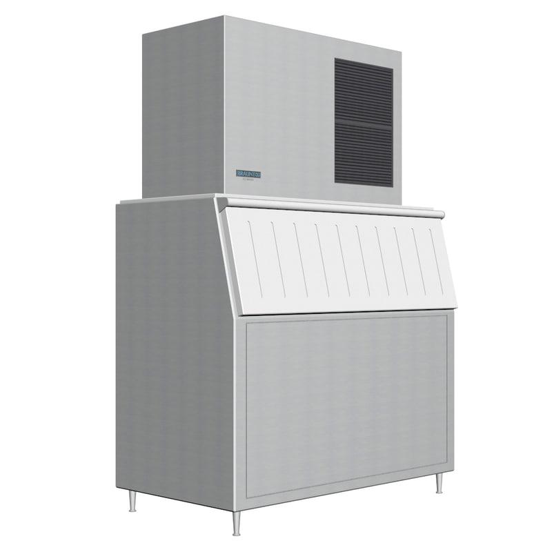 3d restaurant ice maker
