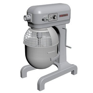 restaurant mixer bowl 3d max