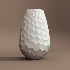 3d 1d voronoi cell vase
