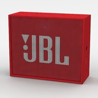 3d model jbl red bluetooth portable