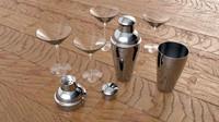Shaker & Glasses
