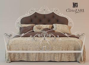 3d bed-corte