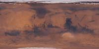 92k Mars Color Map