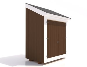3d model shed frames doors