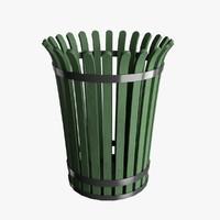 3d trash model