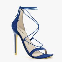 heel shoe 3d obj
