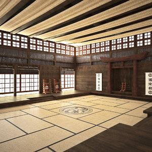 dojo room 3ds