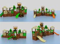 3d jungle water model