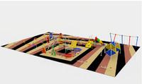 3d structure park model