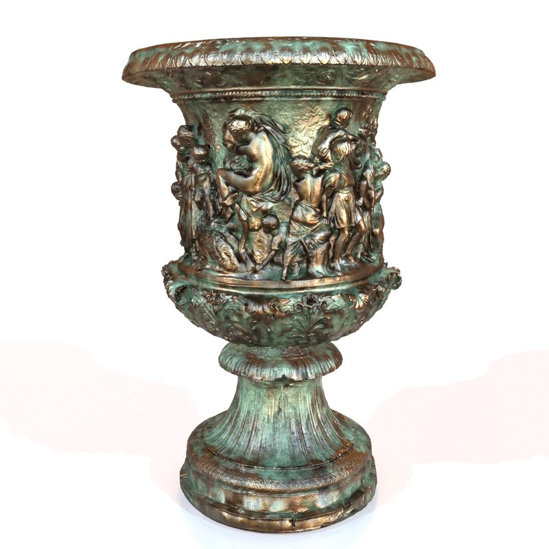 3d model of decorative vase