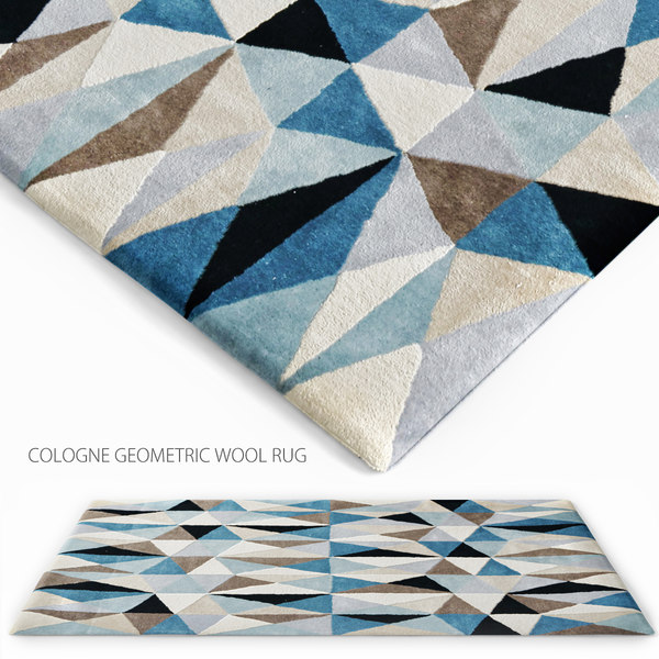 cologne geometric wool obj