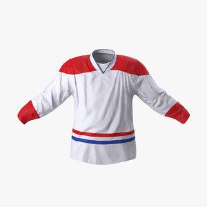 3d hockey jersey generic 4