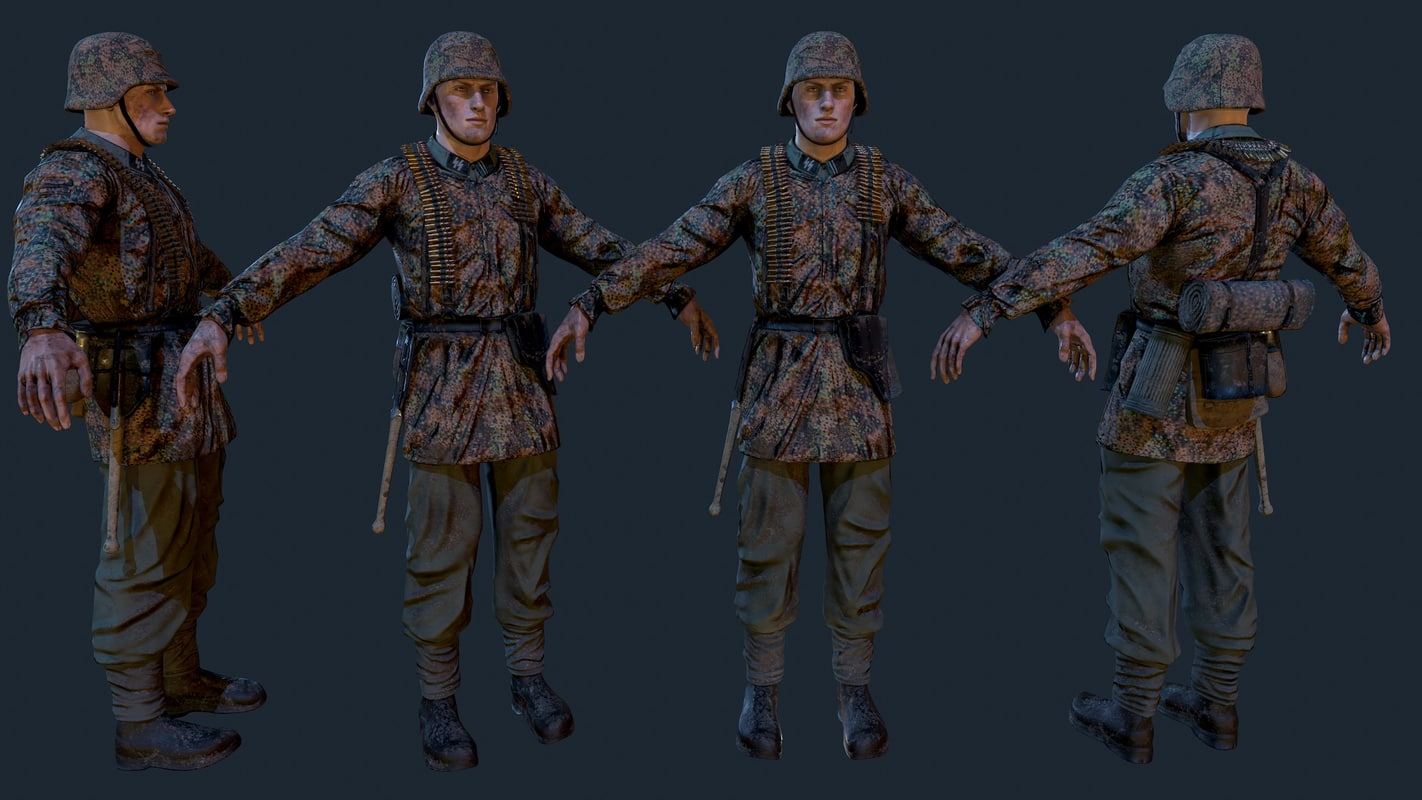 3d ss soldier