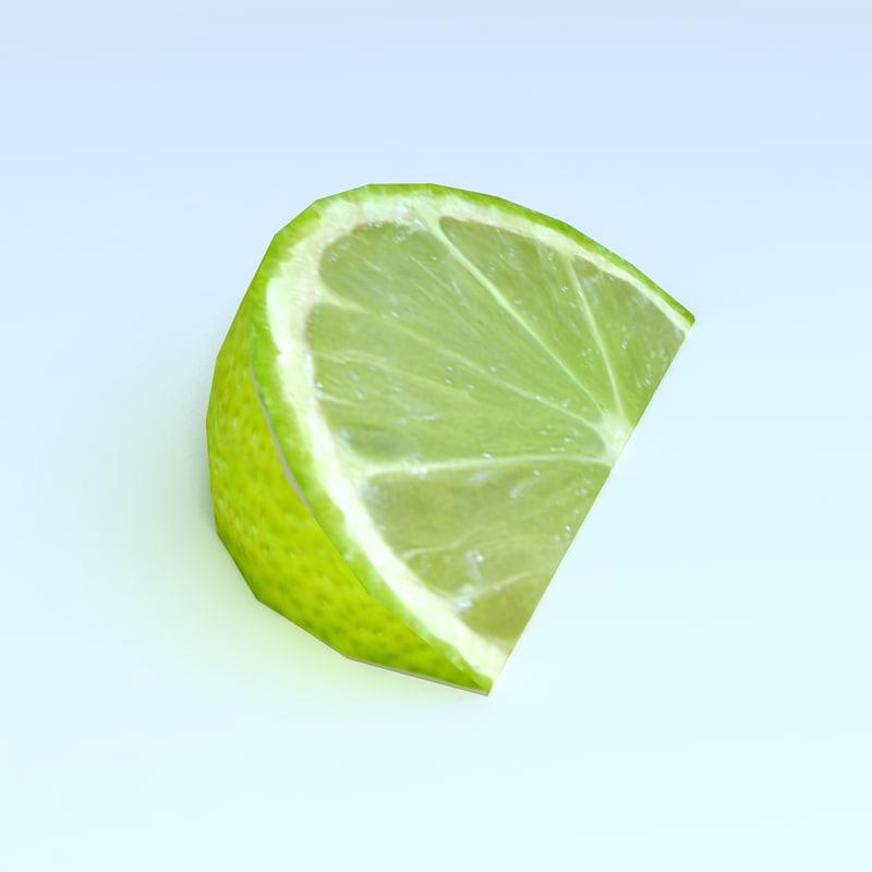 3d slice lime
