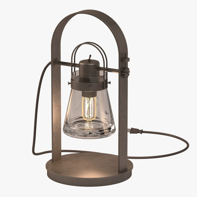 hubbardton forge table lamp 3d max