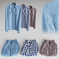 3d shirts model