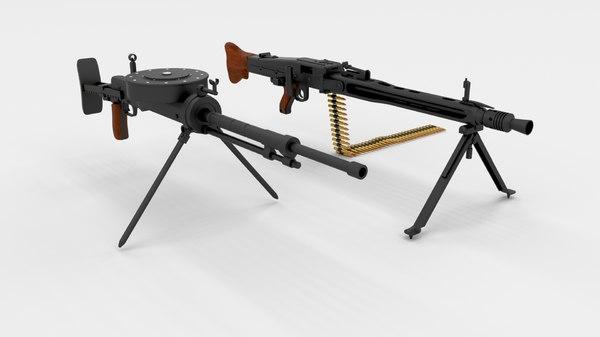 3d pack machine gun