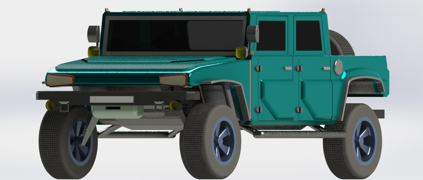 sut vehicle 3d model