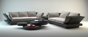3d lounge outdoor furniture