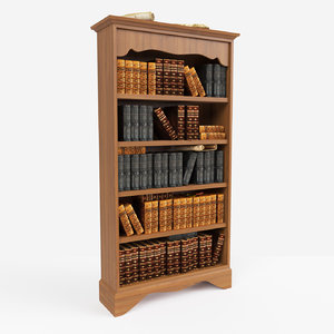 book shelf 3ds