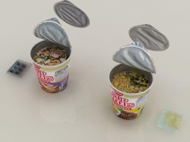 nissin instant cup noodles max