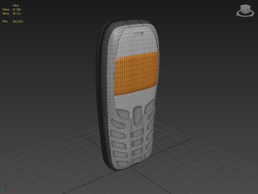 3d model cellular phone siemens a57