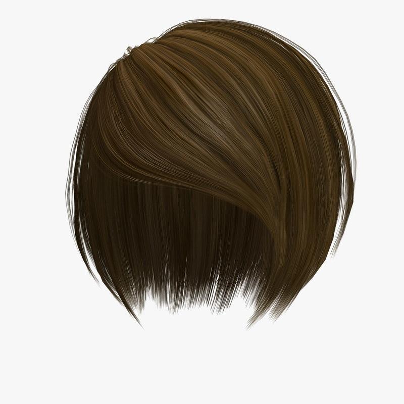 3d model nancy hair