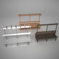 Three change bench