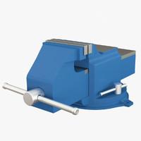 vise locksmithing 3d model
