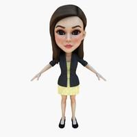 3d eye skirt model