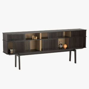 cabinet lloyd poltrona frau 3d model