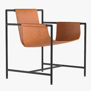3d chair mings poltrona frau