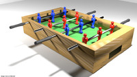 arcade soccer table 3d 3ds