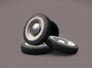 car wheels zaz-965 obj