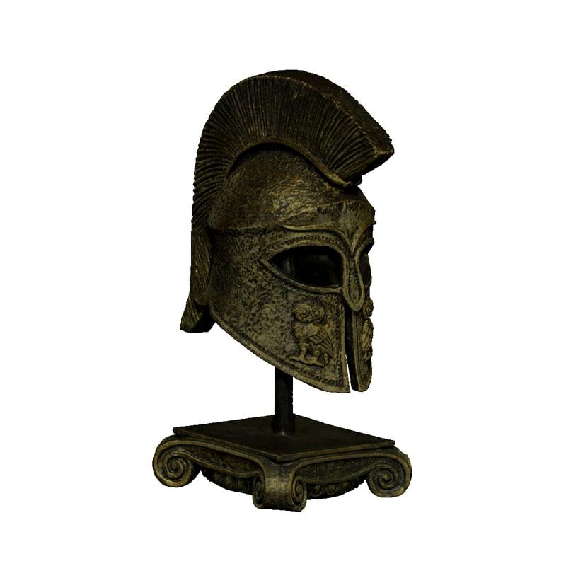 3d model helmet scanned