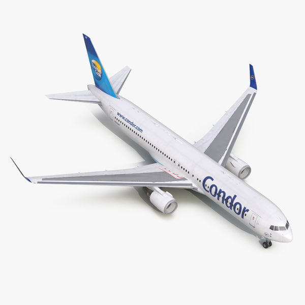 boeing 767-300er condor flugdienst 3d max