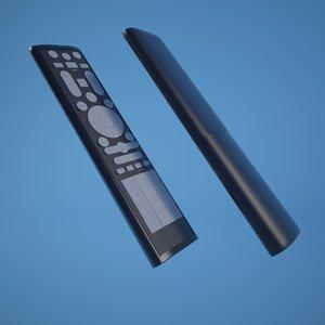 remote controller 3d c4d