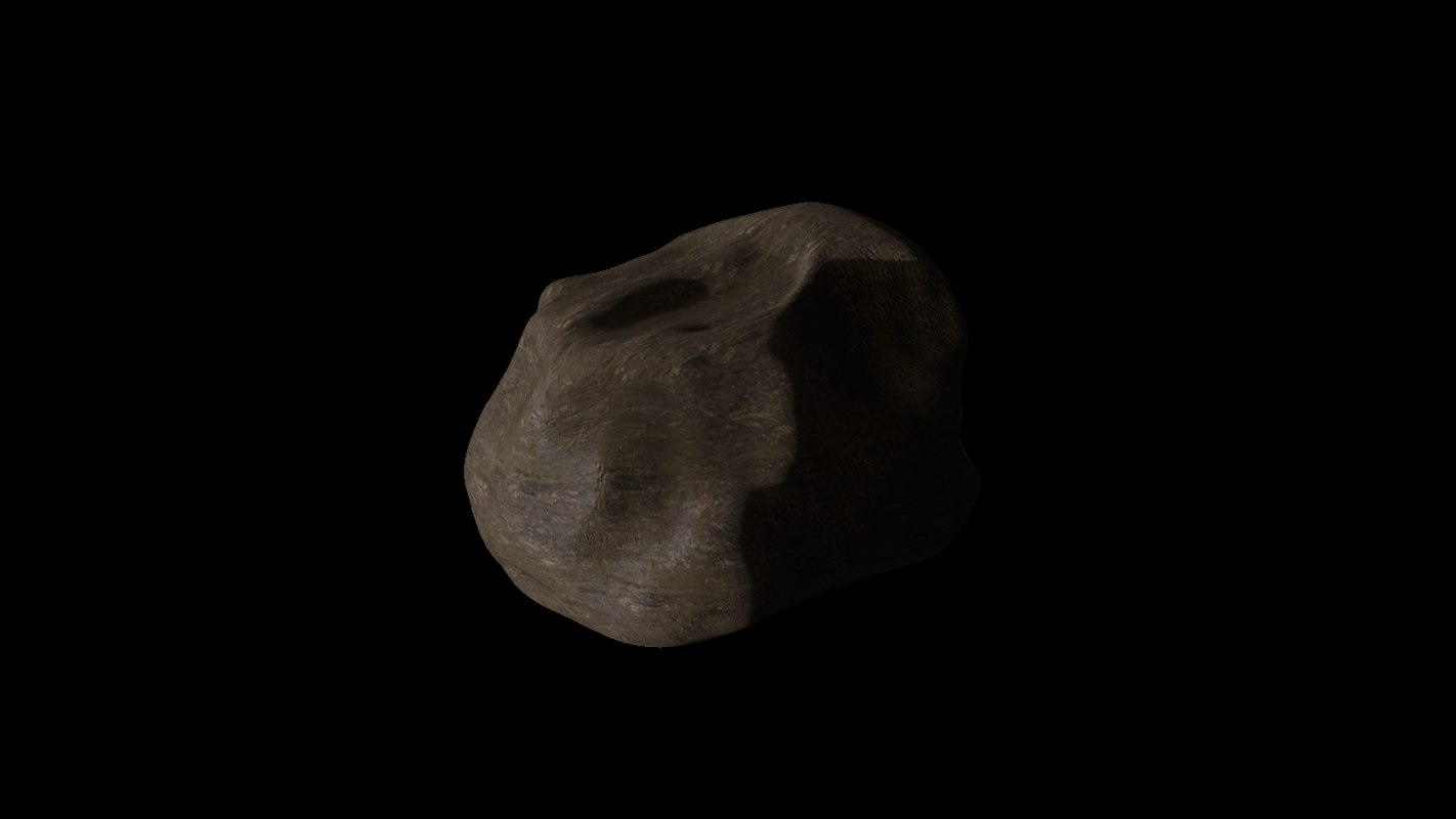 simple rock obj