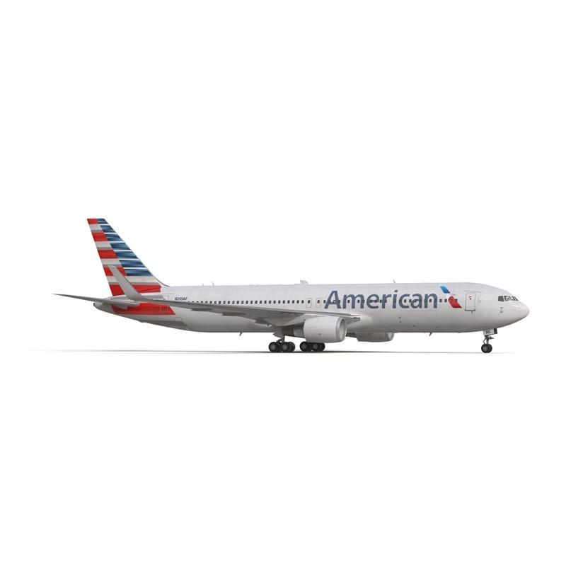 Resultado de imagen para American Boeing 767-300ER png