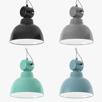 3d model hk living factory lamp