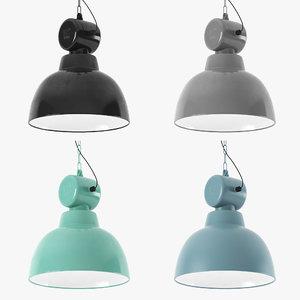 3d model hk living factory lamp