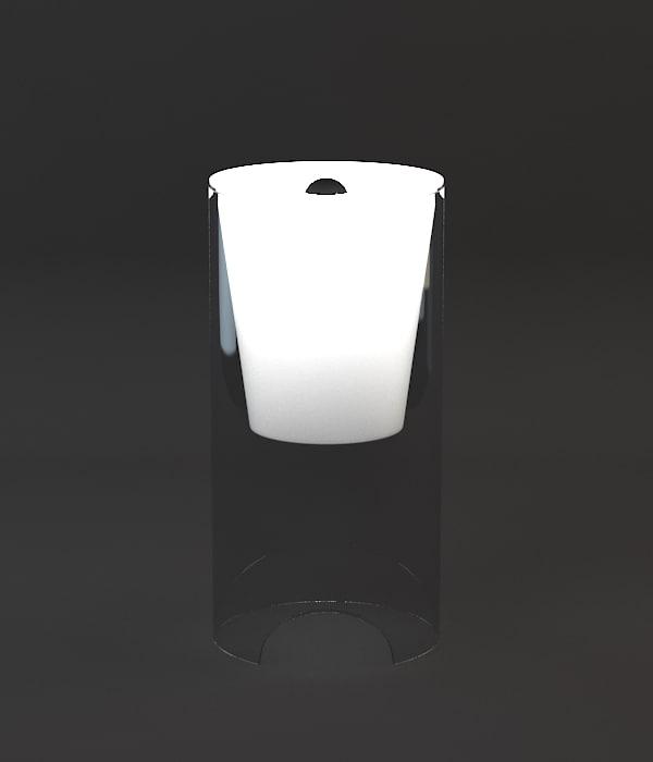3d flos aoy table lamp