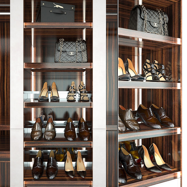 venere shoes 3d model