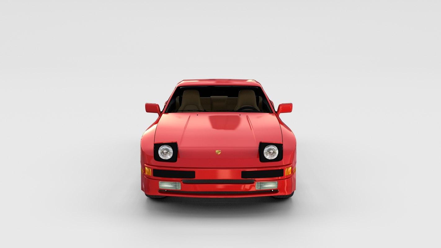 fbx porsche 944 interior