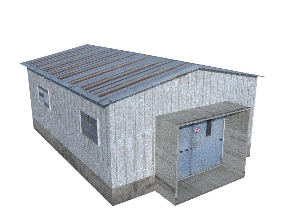 warehouse obj