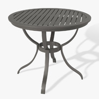 3d model patio table