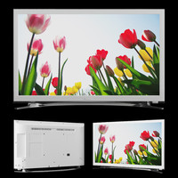 3d model samsung tv ue22h5610aw